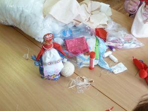 Изготовление народной куклы