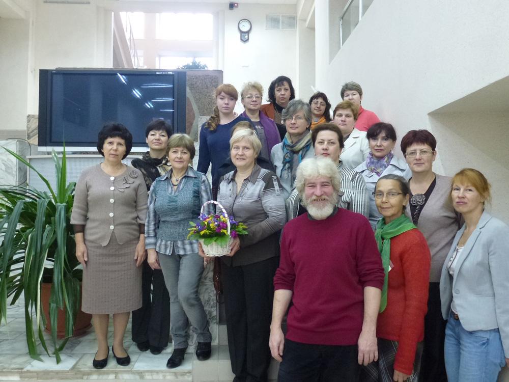 Участники конференции во Владимирской областной научной библиотеке