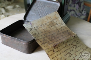 Письма Первой мировой войны