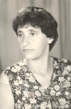 Степанова Зоя Андреевна  г. Гороховец, июль 1983 год