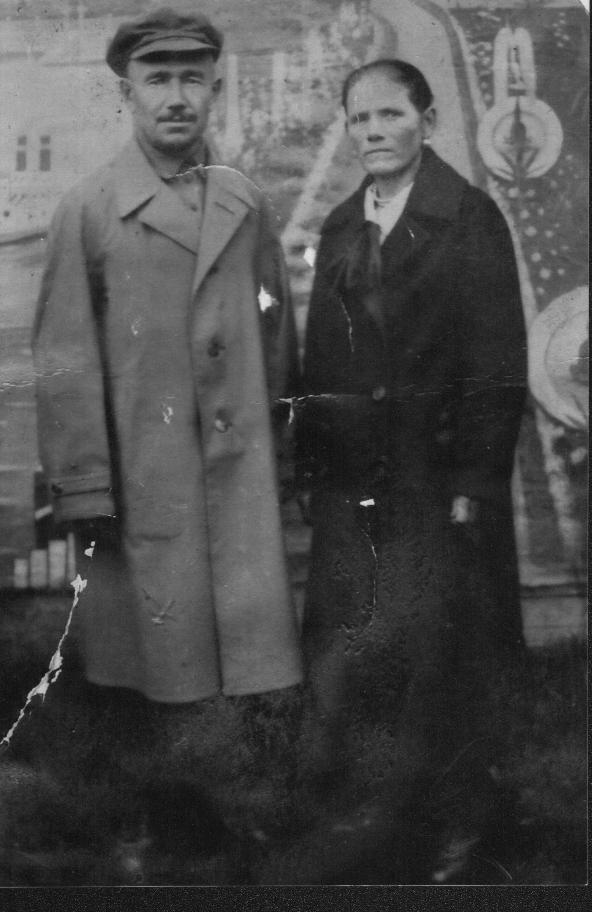 Шугалов Александр Акимович, отец бабушки Лиды, 1942-1943 гг.