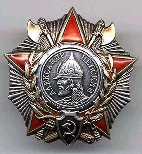 Реликвии нашей семьи.Это прадедушкина орден Александра Невского