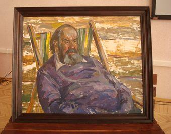 Портрет В.Я. Юкина работы В.И. Ишутина