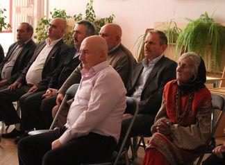 В зале присутствовали представители разных национальностей.