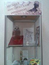 На книжной выставке представлены издания из фонда Владимирской областной научной библиотеки. Витрина 1