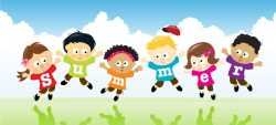 дети , изучающие иностранные языки летом