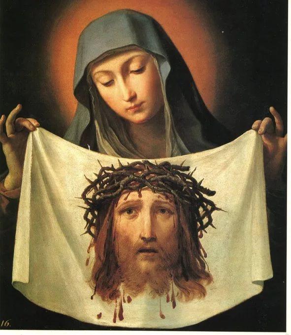 Картина. Гвидо Рени. Святая Вероника. XVII в.