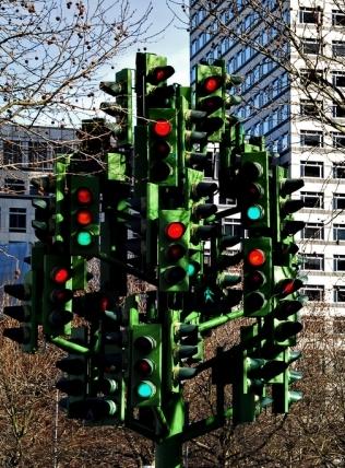Лондонское светофорное дерево