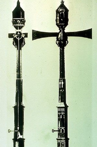 Первый светофор. 1868 год. Лондон. Источник фото: jalopnik.com