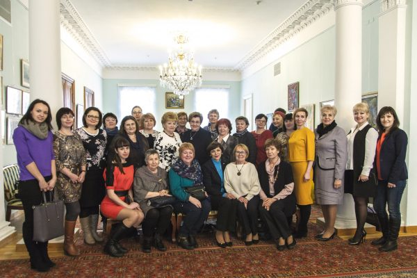 Члены региональных отделений Союза женщин России, участники семинара
