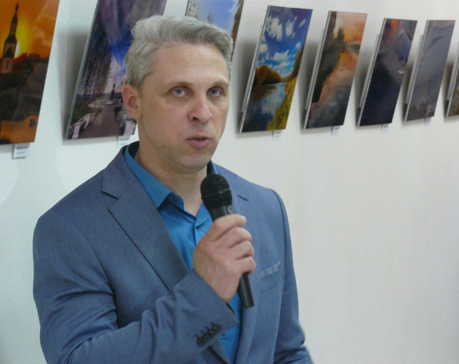 Vystuplenie Borisa Puchcova