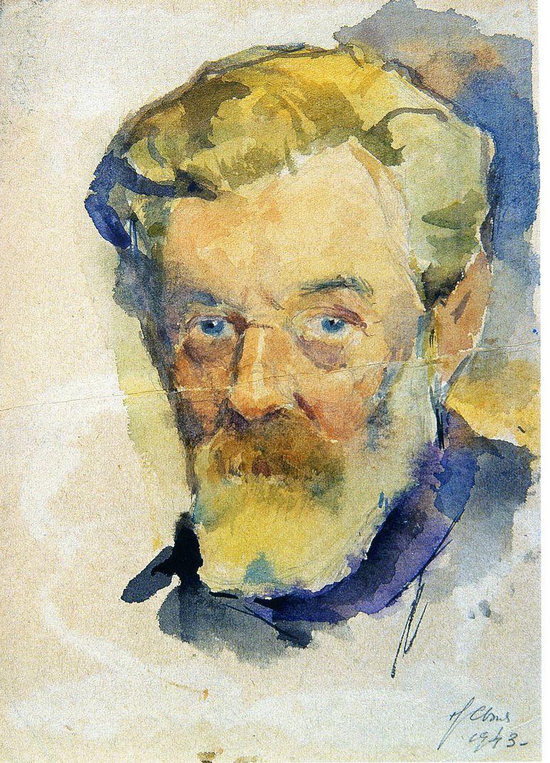 Avtoportret Syhceva 1943 god