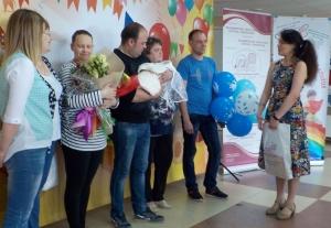 Ирина и Михаил Татарновы с дочкой Алисой