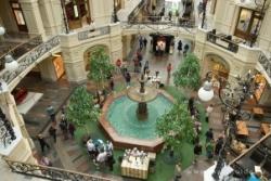 фонтан в ГУМе