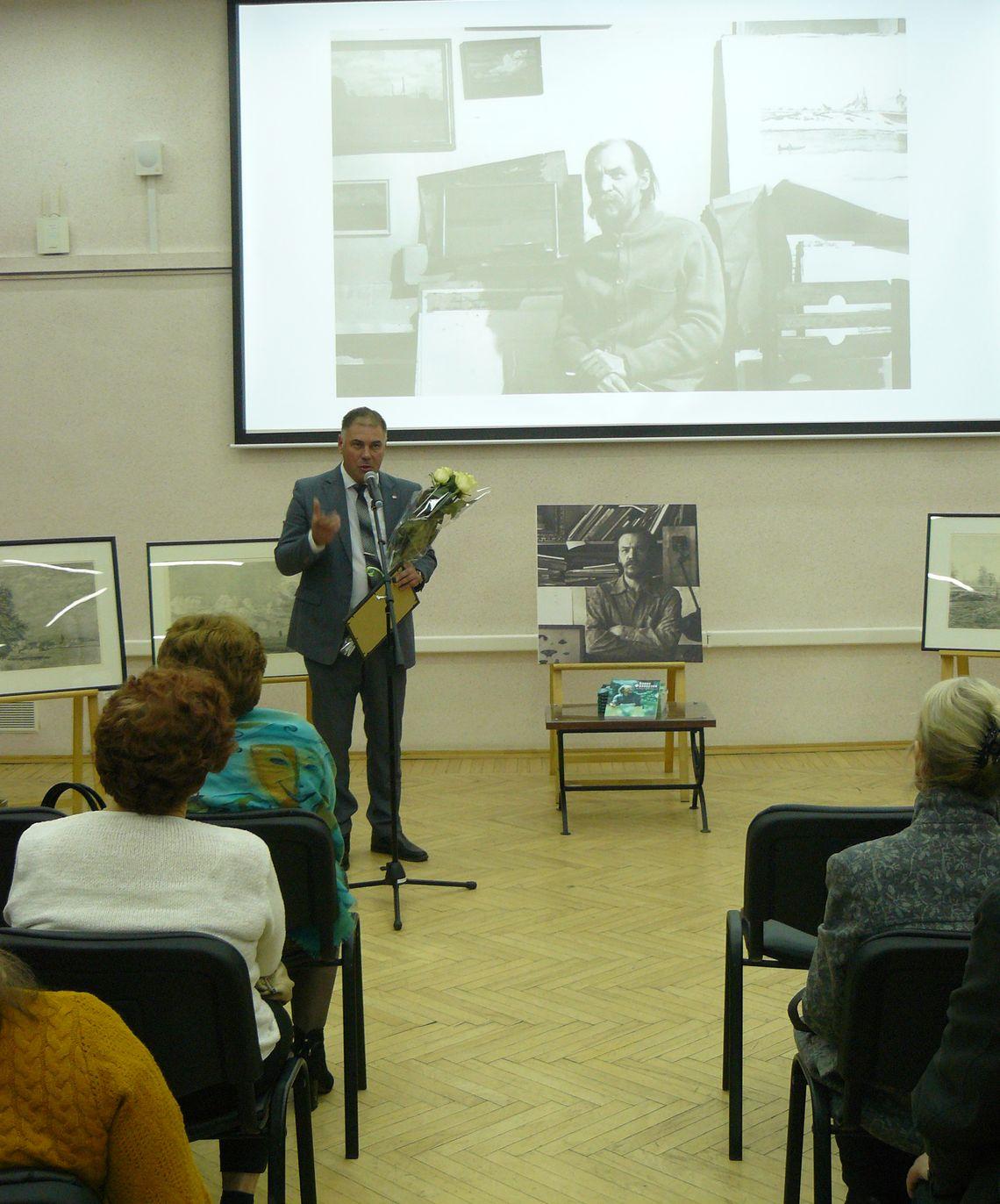 Холин, председатель владимирского отделения Союза художников