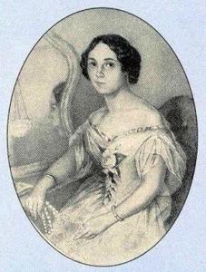 жена Тютчева