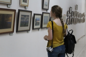 выставка на галереях библиотеки