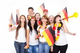студенты Германии