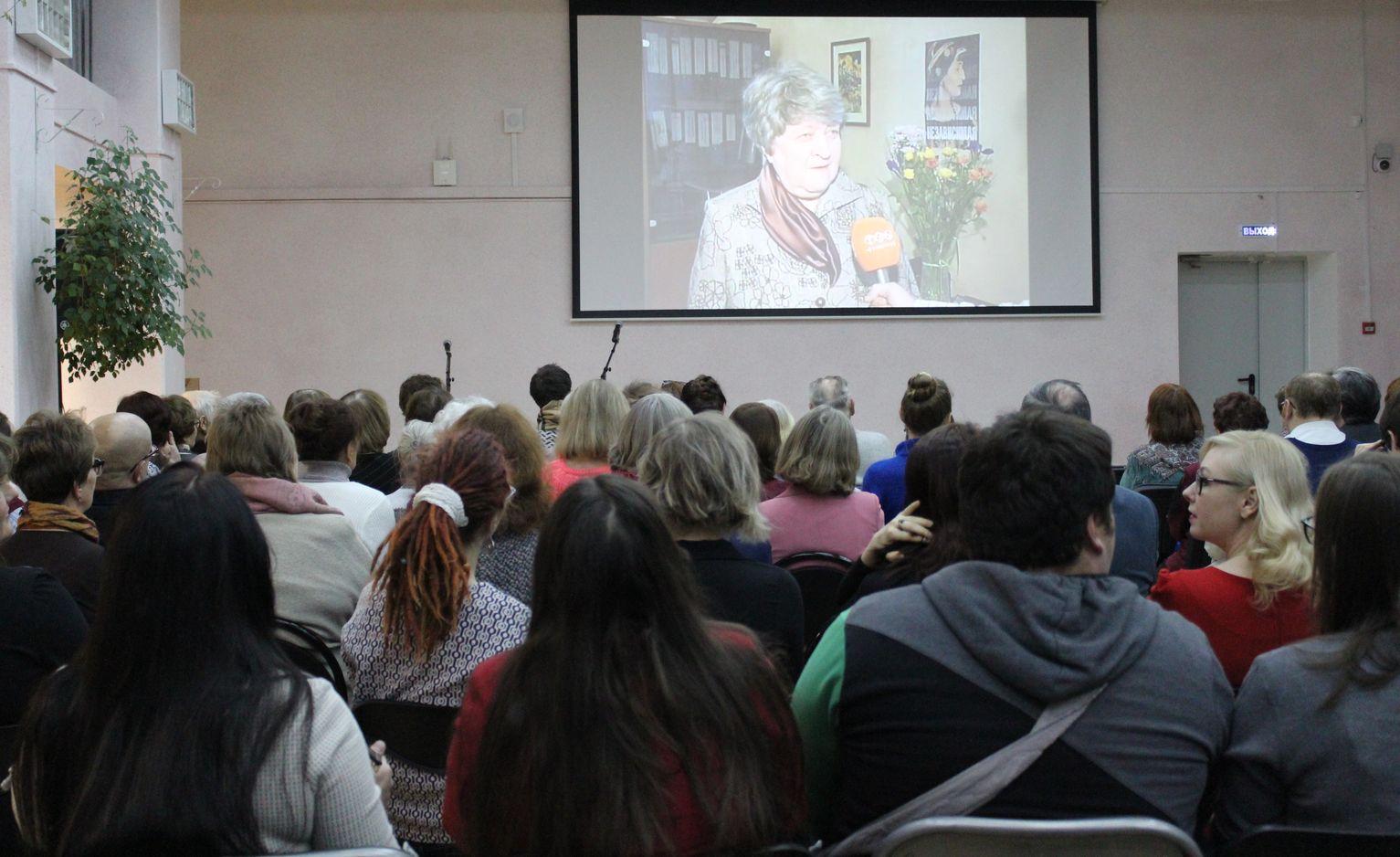 Видеоролик о декане факультета И.Л. Альми