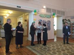 Директор Владимирской областной научной библиотеки поздравляет коллег Ивановской областной научной библиотеки с юбилеем