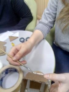 изготовление домика
