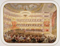 Садовников В. Спектакль в Михайловском театре в Петербурге
