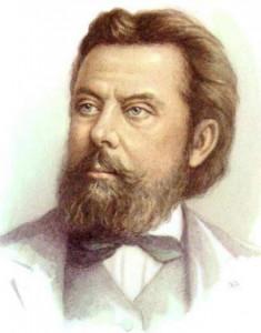 Портрет композитора Мусоргского М. П.