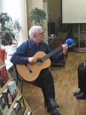 Выступление А. Н. Костырина, председателя Клуба памяти В. Козина