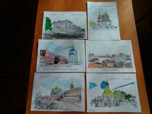 Работы участников - читателей Шихобаловской библиотеки