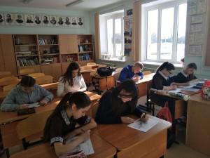 Ученики Энтузиастской школы (Юрьев-Польский район)