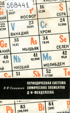 Обложка книги В.И. СемишинаПериодическая система химических элементов Д.И. Менделеева