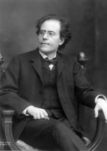 Портрет композитора Г. Малера