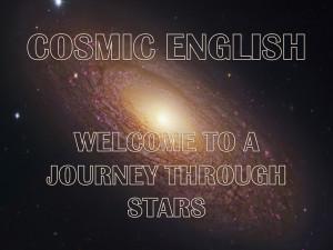 звездное небо и надпись на английском языке