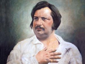 Портрет писателя Оноре де Бальзака