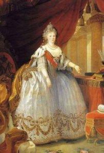 Большой парадный портрет императрицы Марии Фёдоровны,Мари Элизабет Луиза Виже-Лебрен