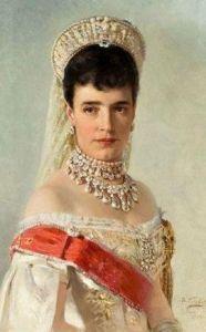 Императрица Мария Фёдоровна (супруга Александра III). Маковский К.Е.