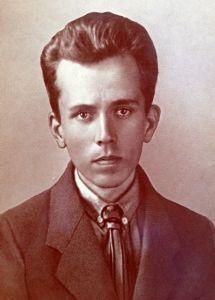 Николай Островский в юности