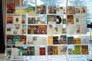Выставка книг, посвященных цыганской культуре