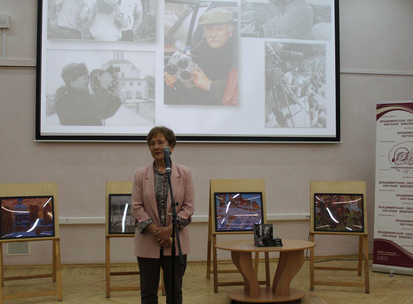 Рассказ о Владимире Ишутине - создателе серии книг Люди Земли Владимирской