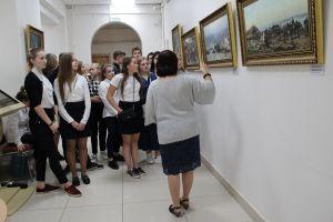 Экспозиция репродукций картин о русско-терецкой войне