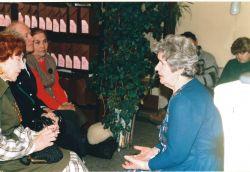 Встреча с племянницей В. Козина Музой Николаевной Еремеевой. 1998 г.
