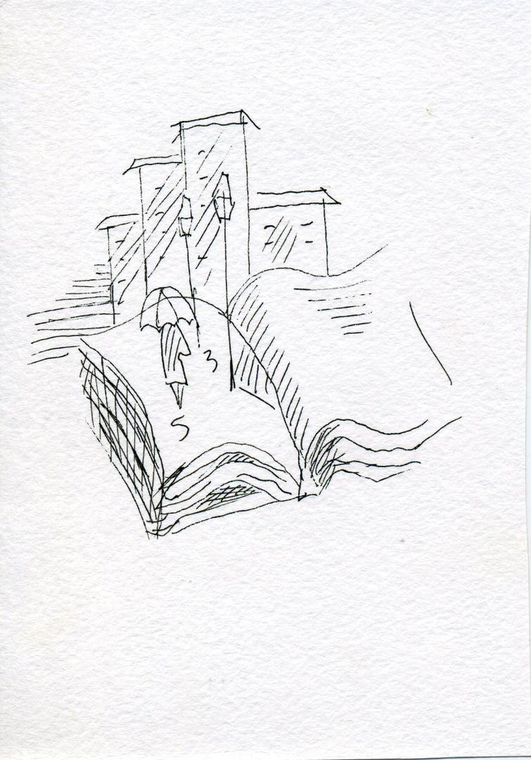 рисунок поэтессы