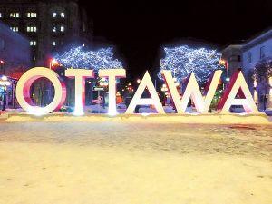 Новогодняя Канада