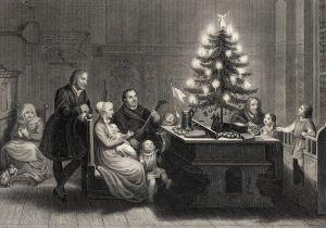 Рождественская елка в Германии