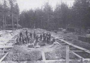 Строительство Ковровского пулеметного завода