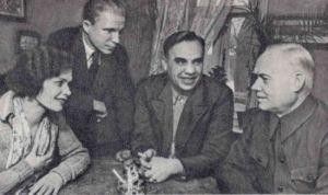В. А. Дегтярев с избирателями