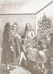 """Иллюстрация к сказке """"Щелкунчик"""" 1840 года"""