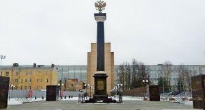 Стела Ковров - город воинской славы