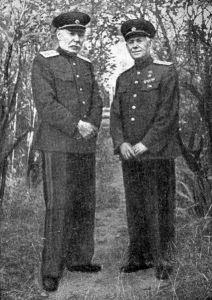 В. А. Дегтярев и В. Г. Федоров