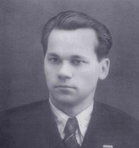 М. Т. Калашников в молодости